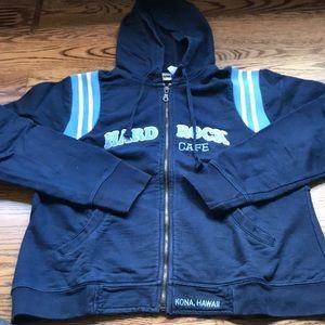 Hard rock zip up hoodie